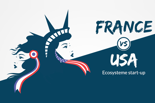 france vs usa ecosysteme start-up